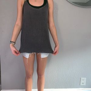 American Eagle Outfitters Tops - Grey tank